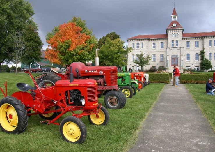 Harvest Home Tractors in Front